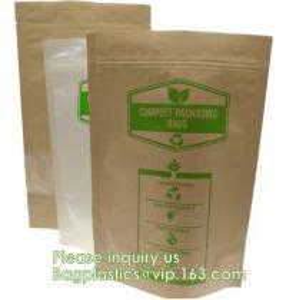 China Bagease pack PLA Custom printing Sharp bottom paper bag/ drip coffee bag/biodegradable tin tie craft paper tea bags wholesale