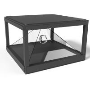 China 110x110CM 360 degree Holographic Display Showcase/3D Hologram Glass/3D Holo Box wholesale