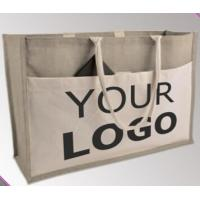 China JUTE TONE BOX TOTE,CINCH BAGS,JUTE SHOPPING BAGS,JUTE GIFT BAGS,JUTE FABRIC CONFERENCE BAGS,LAUNDRY wholesale