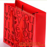 China LUXURY PAPER CARRIER SHOPPING BAGS, LUXURY PAPER BAGS, LUXURY SHOPPING BAGS, KRAFT PAPER WINE BAG wholesale