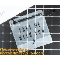 China Customized Bags PVC Phone Bag Cosmetic Bag Ladies Handbag Clothes Packing Bag Wine Cooler Ice Bag Stationery Document Ba wholesale