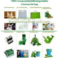China 100% COMPOSTABLE BAG, 100% BIODEGRADABLE SACKS, D2W BAGS, EPI BAGS, DEGRADBALE BAGS, BIO BAGS, GREEN wholesale