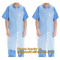 China Clear Medical Disposable Polythene Apron,Medical Disposable PE Apron,Medical Colored Disposable PE Apron For Hospital wholesale