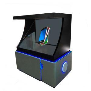 China 43 inch 180 degree 3d hologram advertising display pyramid showcase wholesale