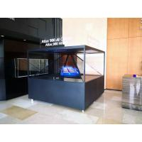 China 90x90CM 360 degree Holographic Display 3D Pyramid 3D Holo Box 3D Advertising Showcase wholesale