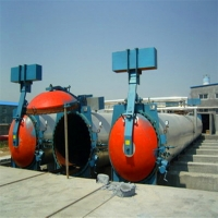 Industrial bricks large steam autoclave for building material