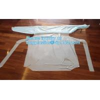 China Sterile Disposable Surgical Gown,Long sleeves disposable hospital isolation gowns,Manufacturer Supplier surgical gown ma wholesale