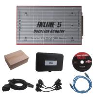 China Red Truck Diagnostic Tool Cummins INLINE 5 INSITE 7.62 Data Link Adapter wholesale