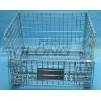 Buy cheap Light Duty Hexagonal Wire Container Storage Cages 6mm Wire Guage from wholesalers