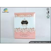 China Luxury Pink Cosmetic Packaging Boxes For Mask Product / Cosmetic wholesale