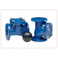 China 12 Inch Vertical Ball Check Valve With Epoxy Powder Coating DN15 - DN300 wholesale