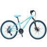 Buy cheap 24 Inch Lightweight Childrens Bikes 3 X 8 Speed Mechanic Dual Disc Brake from wholesalers