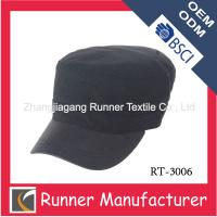 Wholesale 100% polyester military army cadet cap from china suppliers