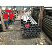 Quality GB/T 3091 Low Pressure Liquid Delivery Galvanized Welded Steel Tube , ERW SAWL for sale