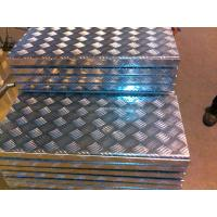 China Anti Slide Aluminum Coil Board Five Bars Checkered Aluminum Sheet For Stairs wholesale