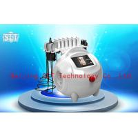 Wholesale Red Diode Lipo Laser Slimming Machine / Ultrasonic Cavitation RF Fat Removal Beauty Machine from china suppliers