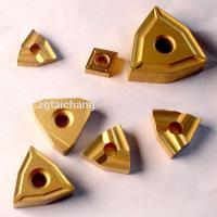 China High Wear Resistant Cemented Carbide Tools Thread Cnc Insert Customized Size on sale