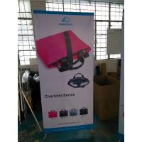"Quality Adjustable X Stand Banners Pvc Film With Grommets Long Life Printed  32"" X 70"" for sale"