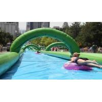 China new 1000ft slip n slide inflatable slide the city wholesale