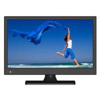 "China Slim 18.5"" Double Tunner Digital LED TV support H.265 , 200cd / m2 Brightness wholesale"