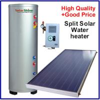 China Intelligent Split Solar Water Heater , Flat Panel Solar Water Heater SP-150-500L wholesale