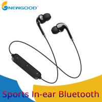 China S6 Sport Neckband Wireless Earphone Music Earbuds Headset Handsfree Bluetooth Earphone with Mic For iPhone For Huawei Fo on sale
