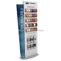 China Car Accessories Retail Store Slatwall Display Stands Double Sided With Custom Logo wholesale