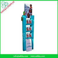 Quality Customized printing tow side Paper material FSDU Cardboard floor Display shelf for sale