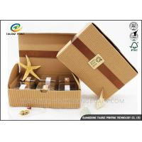 China Small Size Corrugated Packaging Box Recycled Healthy Paper Materials wholesale