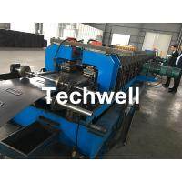 China 1.5-2.5mm Carbon Steel Cable Tray Roll Forming Machine With 5 Ton Hydraulic Uncoiler wholesale