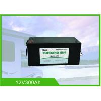 Buy cheap 12 Volt 300Ah RV Battery Deep Cycle High Inrush Current Bluetooth / WIFI from wholesalers