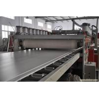 China Wood Plastic Board Extrusion Line , Plastic Extrusion Machinery wholesale