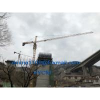 China 6 TON QTZ5015 Top Slewing Tower Crane 165 feet Boom Manufacturer Craen wholesale