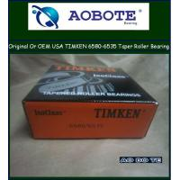 China P5 high precision Timken / SKF / FAG Gcr15 Tapered Roller Bearing 6580 / 6535 wholesale