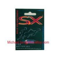 Wholesale Safety SX Male Enhancement Pill , SX Herbal Supplement Capsule from china suppliers