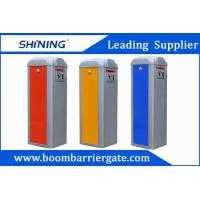 China 3-6s Red Color Car Parking Barrier Gate , Electronic Retractable Barriers wholesale