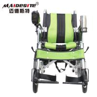 China DLY-6001A Handicapped 	Electric Folding Wheelchair With Battery 130kg wholesale
