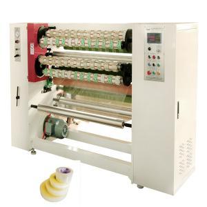 China BOPP Scotch Tape 1500kg Jumbo Roll Slitter Rewinder Machine wholesale