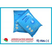China Disposable Wet Wash Glove No Irritation Microwavable With Non - Woven Material wholesale