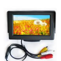 China Universal DC12V Color TFT Vehicle LCD Display 4.3 inch With Sunshade wholesale
