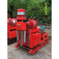 China Hydraulic Chuck Core Drilling Rig Mechanical Drive , Core Drilling Equipment wholesale