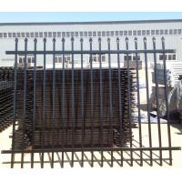 China Top Industrial Garrison Steel Iron Fence 2400mm (H) x 2100mm (W) wholesale