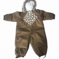 China Children's Overall, Waterproof and Breathable wholesale