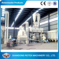 Quality Complete wood pellet production line , wood pellet making machine large capacity for sale