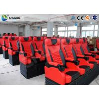 China Pu Leather Imax Movie Theater , Electronic Dynamic 4DM Motion Chair 4D System wholesale