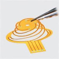 Buy cheap Single-Sided Flexible Circuit  PET Material High Technology Design Service Flex Printed PCB Board from wholesalers