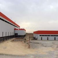 China Low Cost Prefabricated light steel industrail sheds wholesale