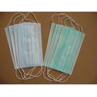 China 3-ply face mask with earloops  medical disposable products china disposable nonwoven wholesale