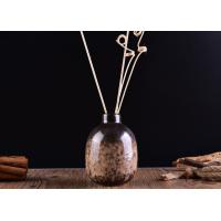China Vintage Ceramic Reed Diffuser Bottle Aromatic Transmutation Glazed wholesale