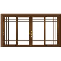 China Small Sliding Glass Doors Replacement / Aluminum Sliding Doors For Patio wholesale